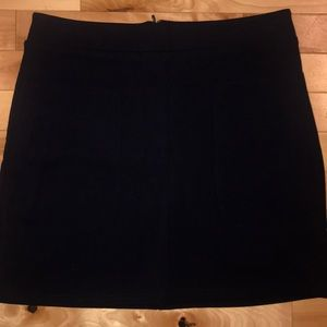 Forever 21 navy mini skirt